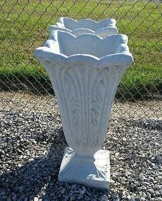 Tall Ornate Vase