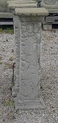 Tall Rock Pedestal