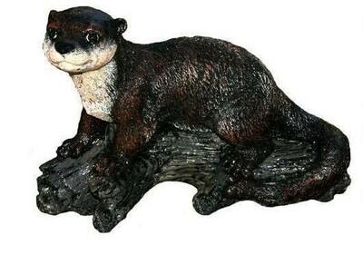 Laying Otter