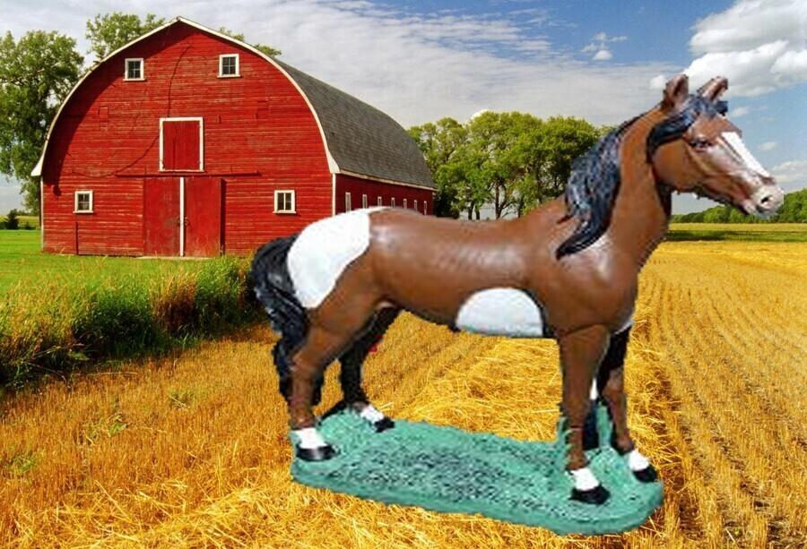 Lg. Detailed Horse