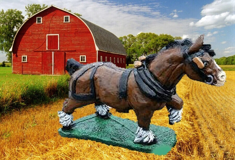 Lg. Clydesdale