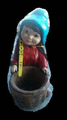 Girl Gnome w/ Basket