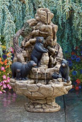Wildlife Bear Fountain