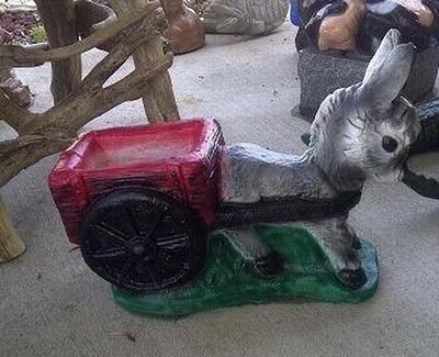 1PC Donkey & Cart