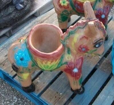 Flower Pot Donkey