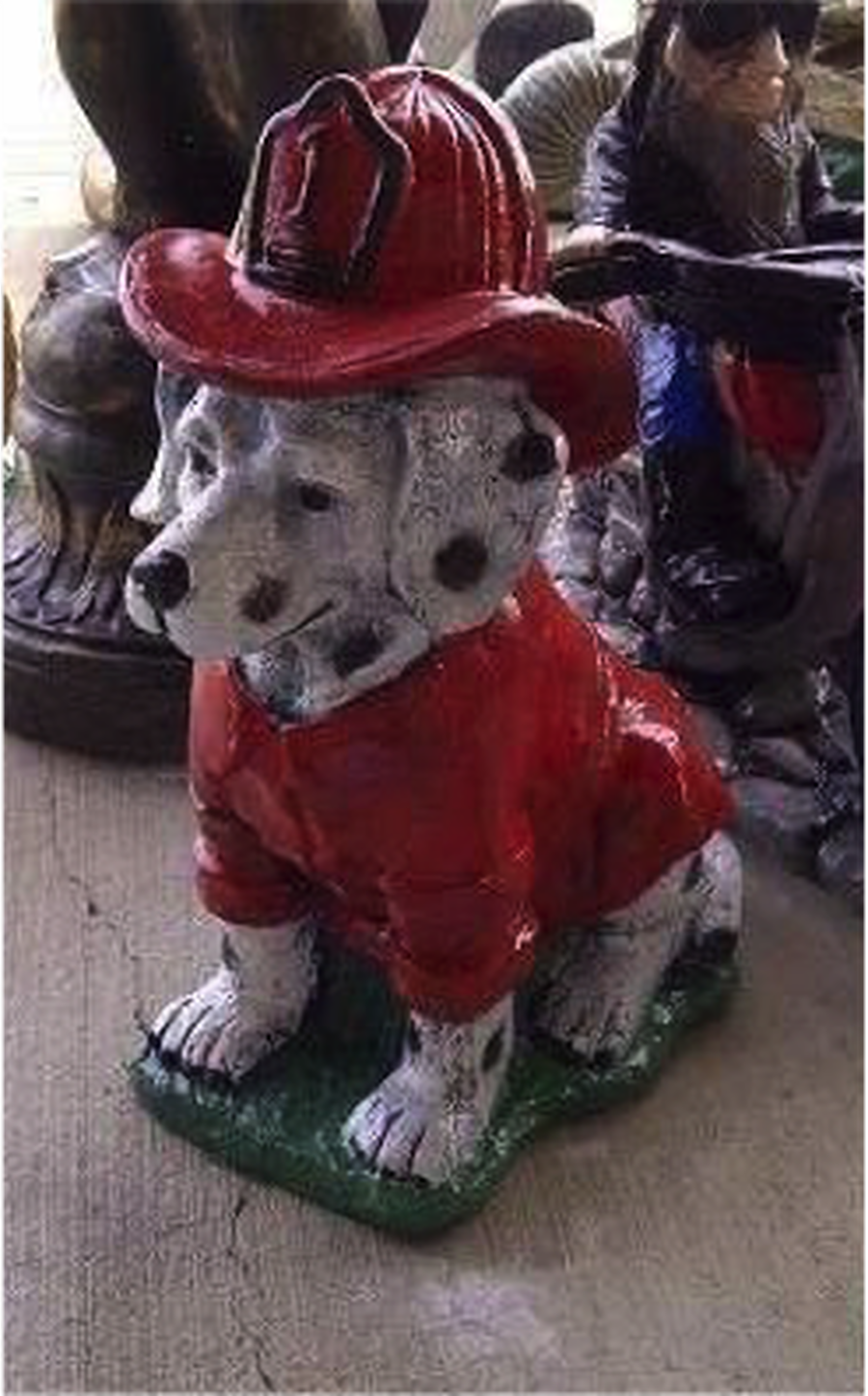 Detailed Fire Dog