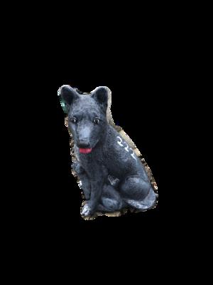 Sm. Sitting Dog
