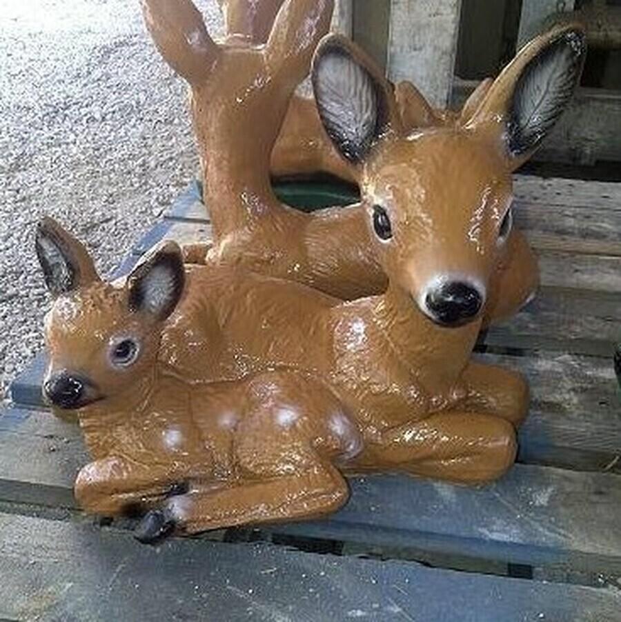 Baby Deer w/ Mama