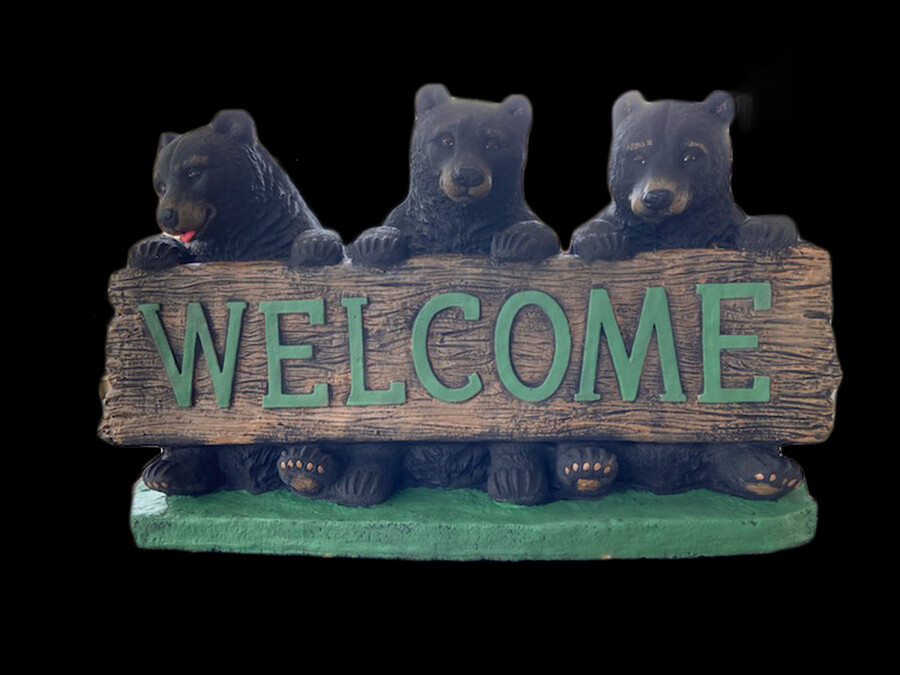 3 Welcome Bears
