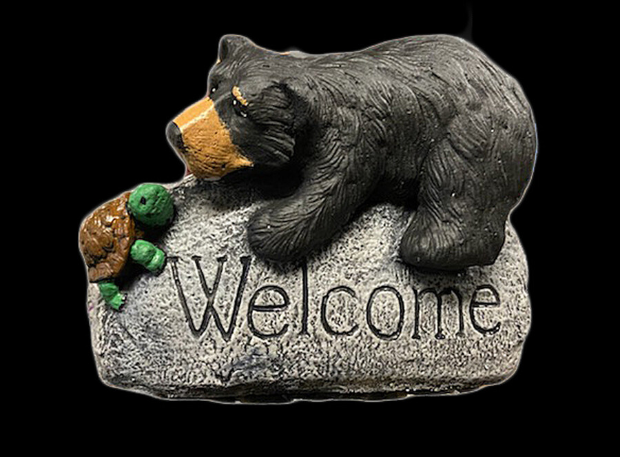 Bear Welcome Rock