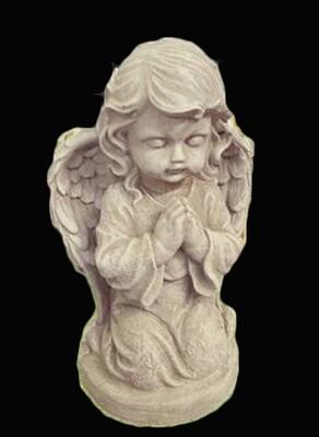 Baby Praying Girl Angel