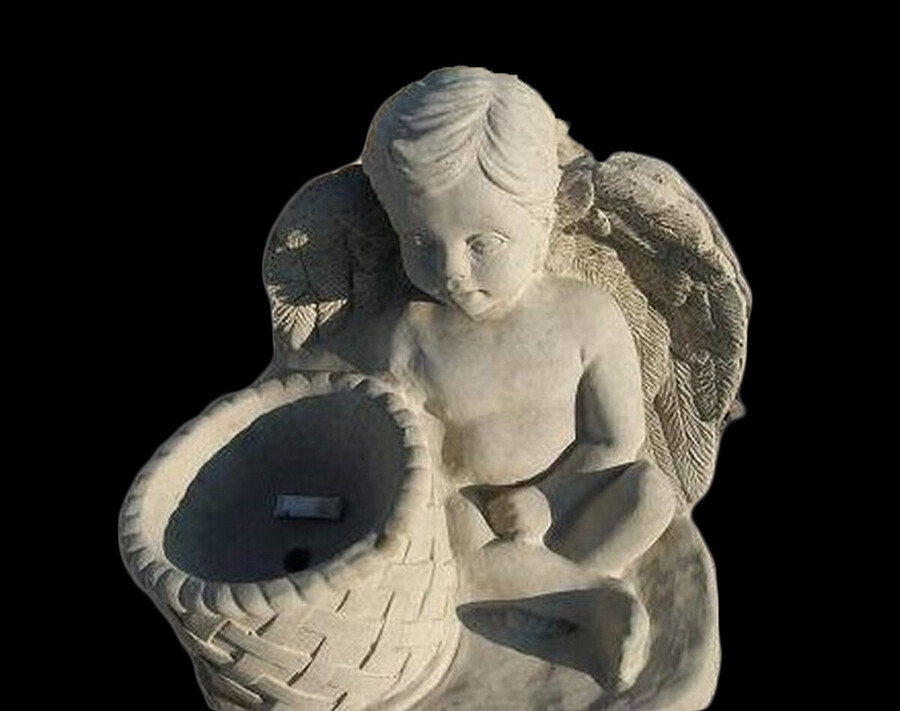 Angel w/ Planter