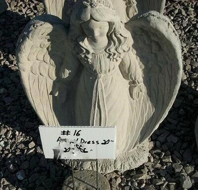 Dress Angel Kneeling