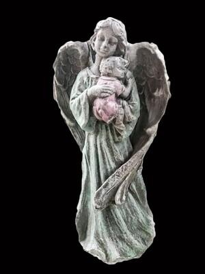 "19"" Angel w/ Baby"