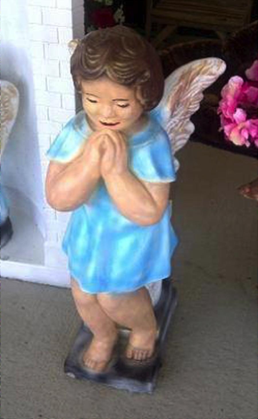 Standing Angel on Pedestal