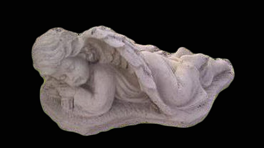 Detailed Laying Angel