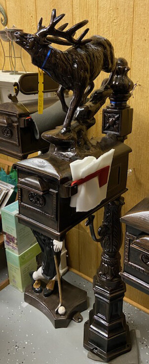 Aluminum Elk Mailbox