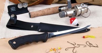 Filet Knife with Scabbard