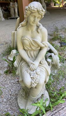 Sitting Garden Lady