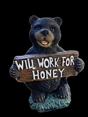 Will Work for Honey Bear