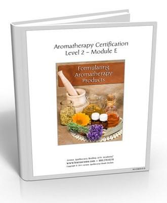 Aromatherapy Level 2 - Aromatherapy Product Formulating (Hard Copy Course)