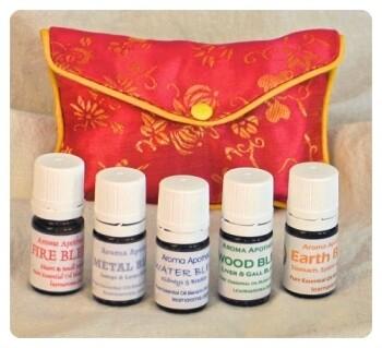 Five Element Essential Oil Blend Kit