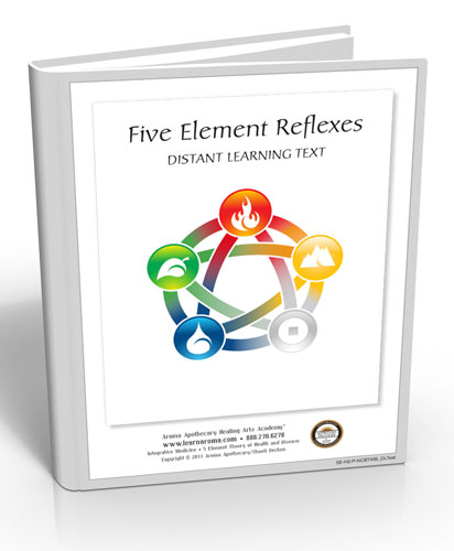 Five Element Reflexes, 6 hours (Hard Copy Course)