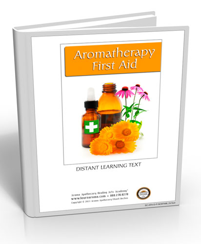 Aromatherapy First Aid, 6 hours (Hard Copy Course)