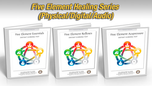 Five Element Healing Package, 18 hours (Hard Copy Courses)