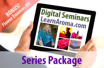 Digital Seminar Series Package, 6 hours + flower essence kit (SAVE $25)