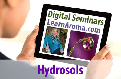 Digital Seminar: Hydrosols- Liquid Aromatherapy, 2 hours