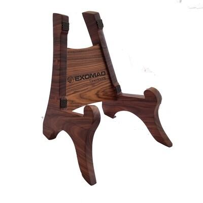 Pedestal en madera Morado