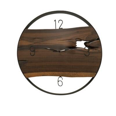 Reloj de pared en Morado