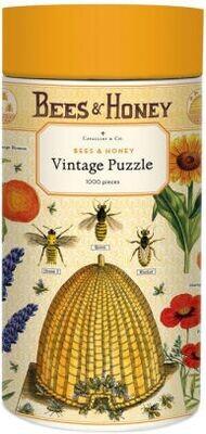 Bees & Honey Vintage Puzzle