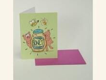 Honey Bears Card