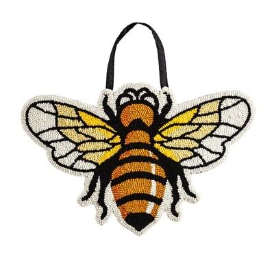 Bee Hooked Door Decor