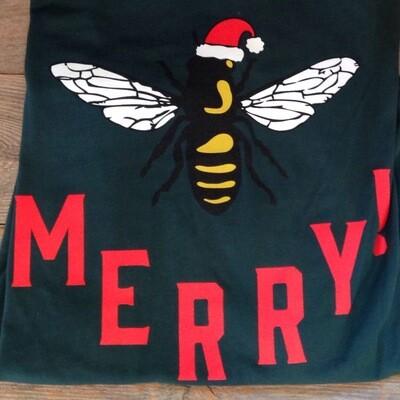 Bee Merry Holiday B-Shirt