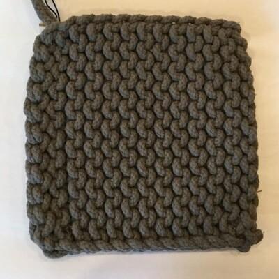 Crocheted Cotton Pot Holder