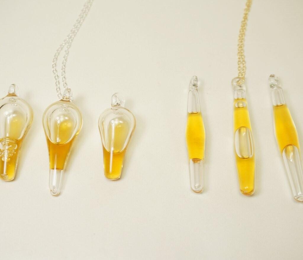Honey Amulet Pendant - Silver