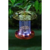 Solar Bird Feeder w/Bee Glass