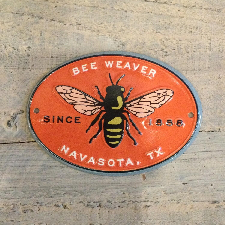 Metal BeeWeaver Emblem / Plate