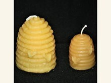 Skep w/ Bees Candle - Medium