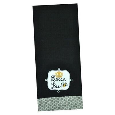Queen Bee Dishtowel
