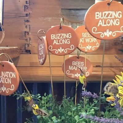 Terra Cotta Garden Sign