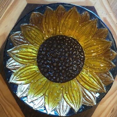 Bird Bath - Sunflower (IN STORE PICKUP)