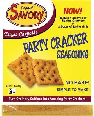 Savory Party Cracker Seasoning - Texas Chipotle