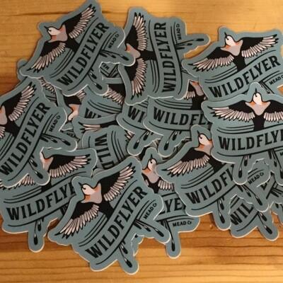 WildFlyer Sticker