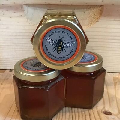 4 oz BeeWeaver Honey