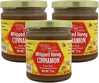 Cinnamon Whipped Honey