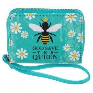 God Save the Queen Half Wallet